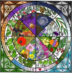 Calendrier Celtique - La Danse Des Eléments